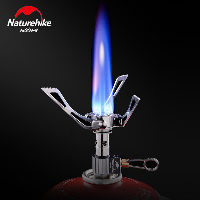 เตาสนาม Mini camp stove (wildfire)+silver