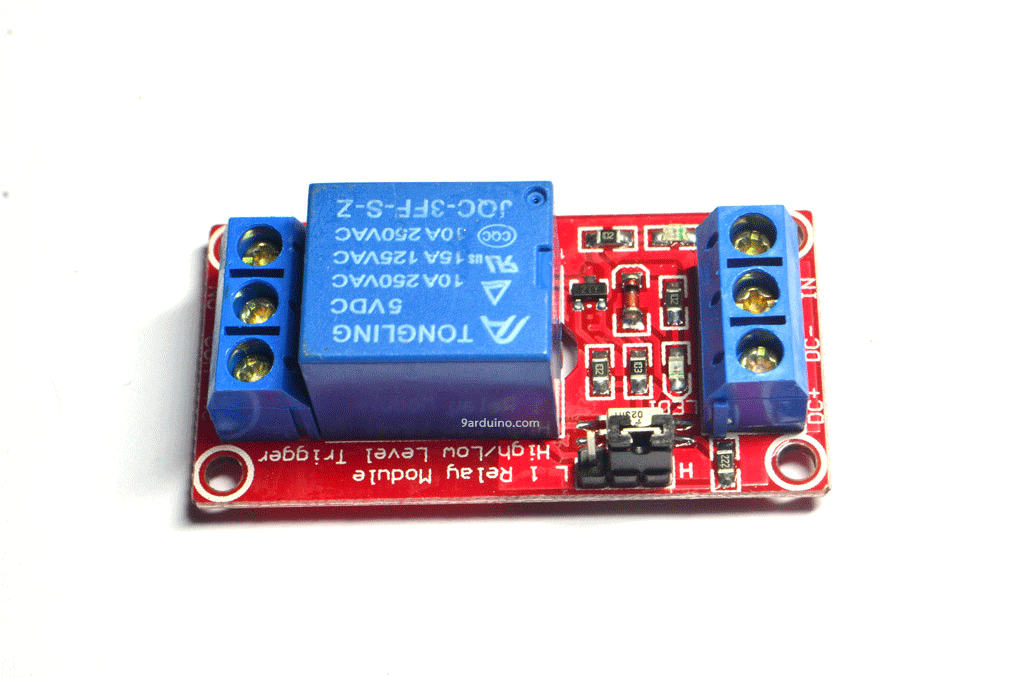 Module รีเลย์ Relay 5V 1 Channel Isolation High And Low Trigger