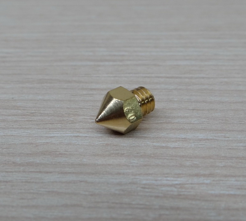 0.2mm Brass nozzle Print head Mk8 Makerbot