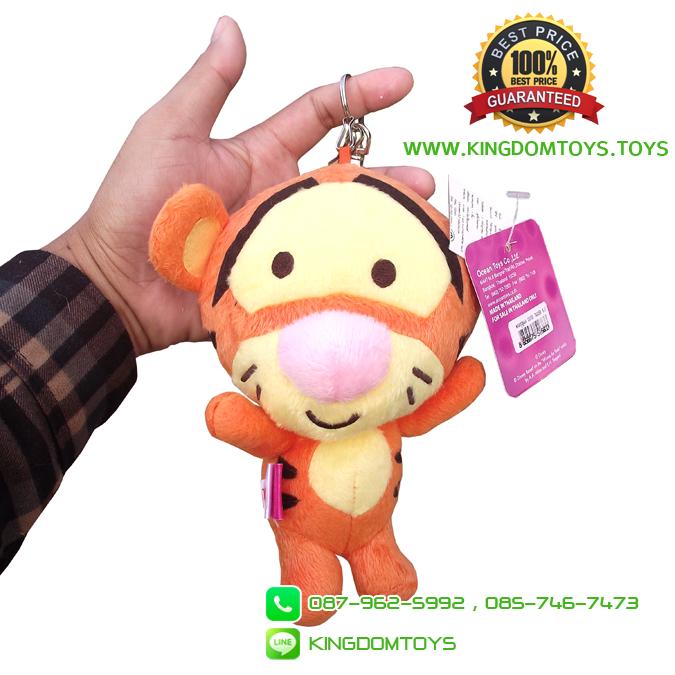 พวงกุญแจ Cutie Tigger 6.5 นิ้ว [Disney]