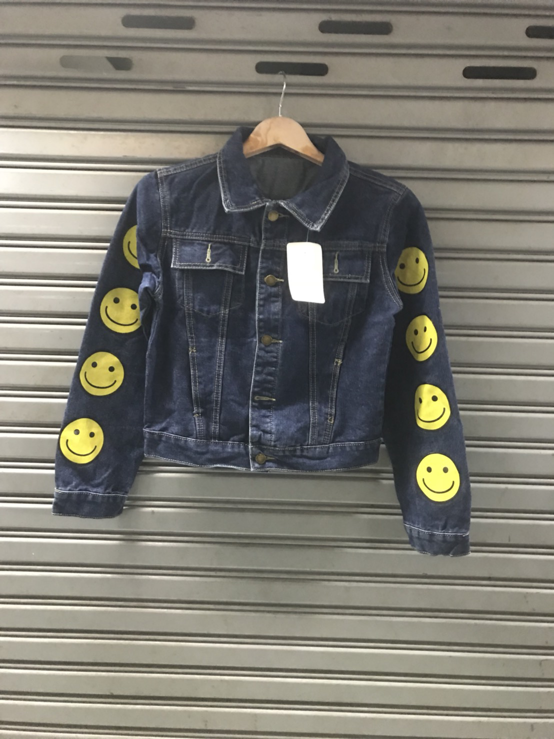 เสื้อแจ็คเก็ตยีนส์ Smiley