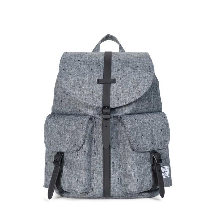 Herschel Dawson Backpack | XS - Scattered Raven Crosshatch