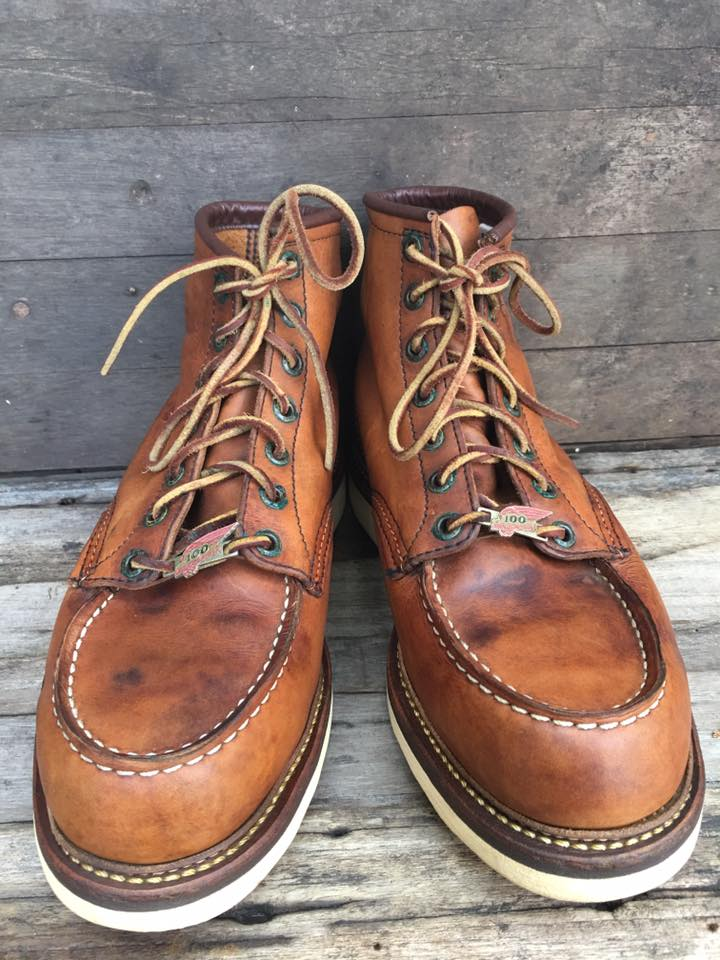 Red wing 1905 100ปี limeted size 9D