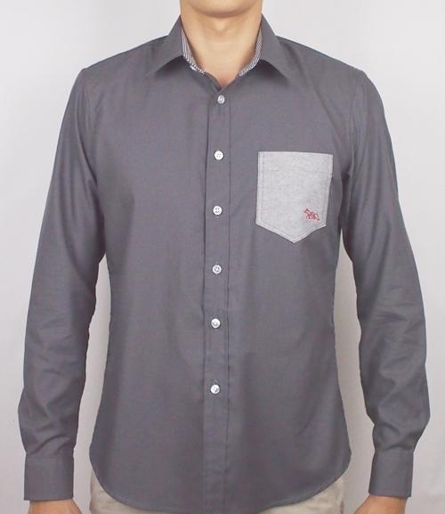 เสื้อเชิ้ตแขนยาว ชาย NANAPA Shirts NA-021