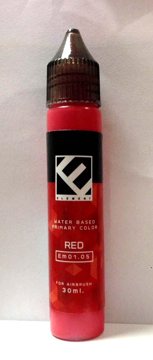 (เหลือ 1 ชิ้น รอเมล์ฉบับที่2 ยืนยัน ก่อนโอน) Em01.05 red 30 ml.