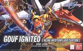 34103 hg 1/144 27 Gouf Ignited Heine Custom (Gundam Model Kits ) 1500yen