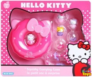 hello kitty squishy carrying case คิตตี้ชุดทำขนม