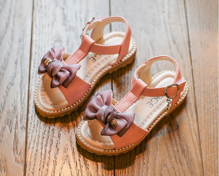 รองเท้าเด็กแฟชั่น สีชมพู แพ็ค 5 คู่ ไซต์ 26-27-28-29-30