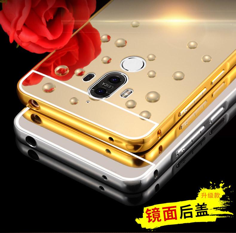 เคส Huawei Mate 9 รุ่น Aluminium Hybrid Mirror Back (เคสฝาหลังเงา)