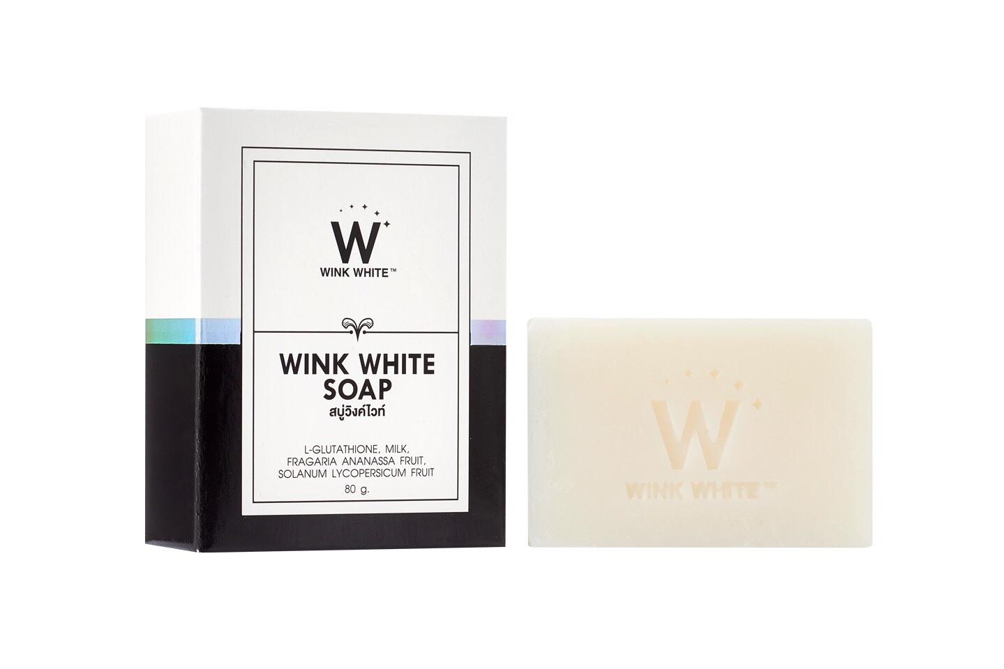 สบู่กลูต้า WINKWHITE SOAP