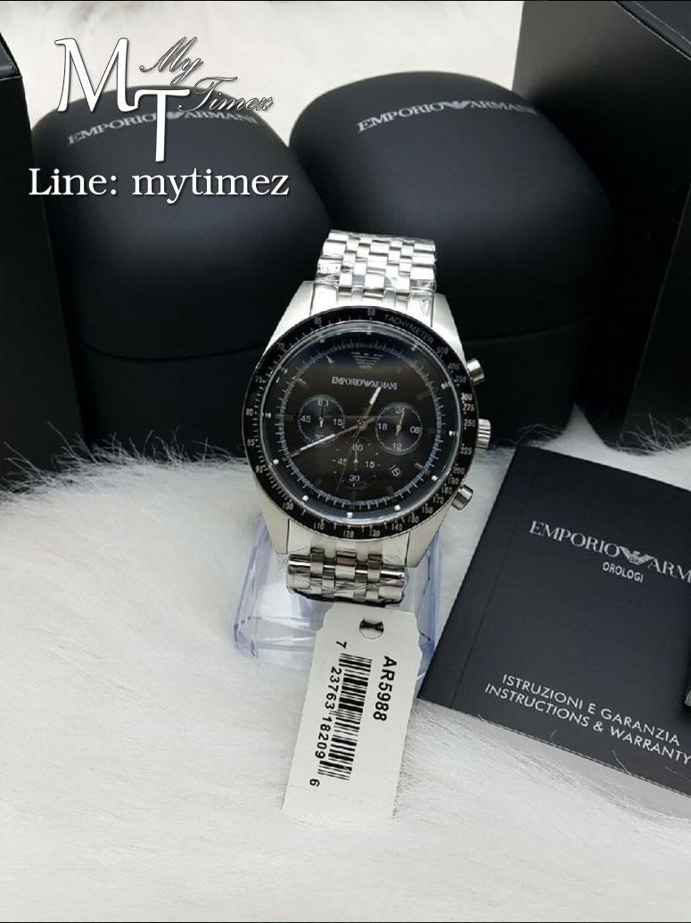 นาฬิกาข้อมือ Emporio Armani Men's Sportivo Analog Stainless AR5988