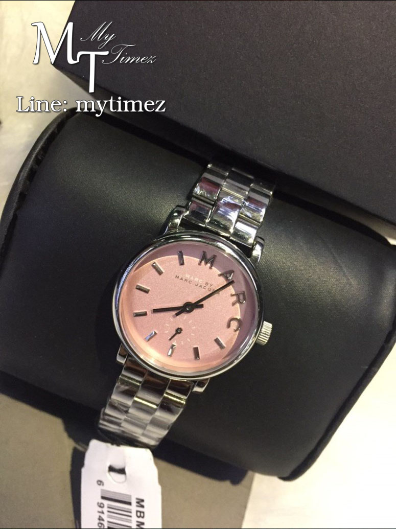 นาฬิกาข้อมือ Marc By Marc Jacobs รุ่น Baker Mini Stainless Steel Watch MBM3283