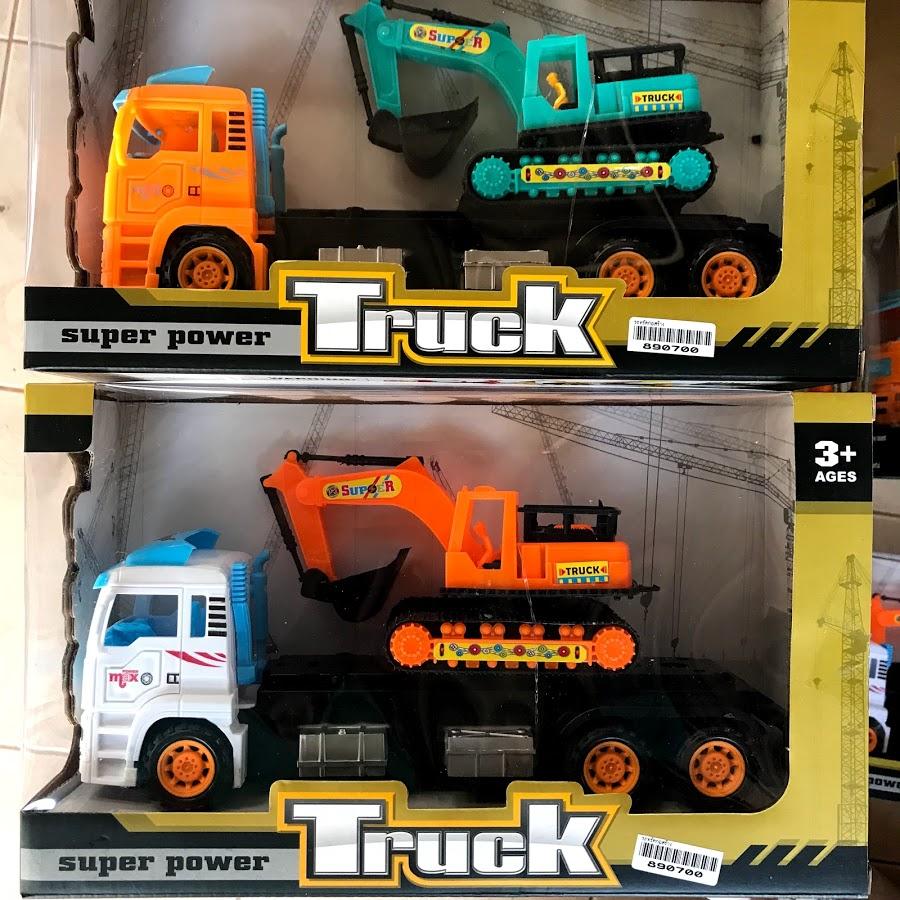 ของเล่นเด็ก รถทรัคก่อสร้าง