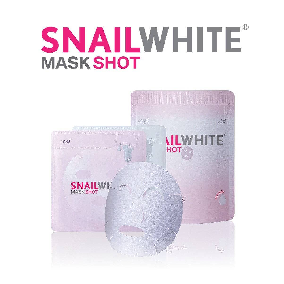 Snail White Mask Shot (5 pieces per pack)