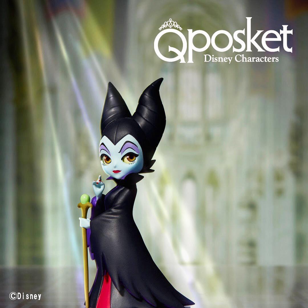 Maleficent ของแท้ JP - Petit Q Posket Disney [โมเดล Disney]