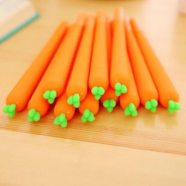 ปากกาแครอท หมด