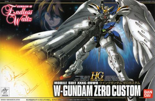 [HG] w-gundam Zero custom