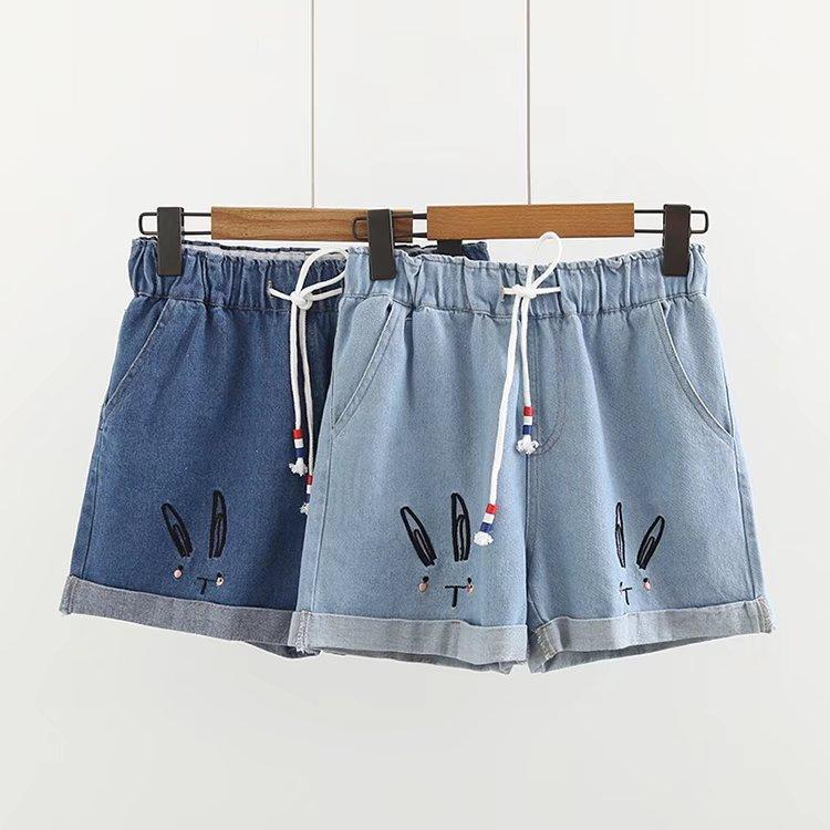 Pre-order กางเกง เสื้อแฟชั่นนำเข้า กางเกงขาสั้น