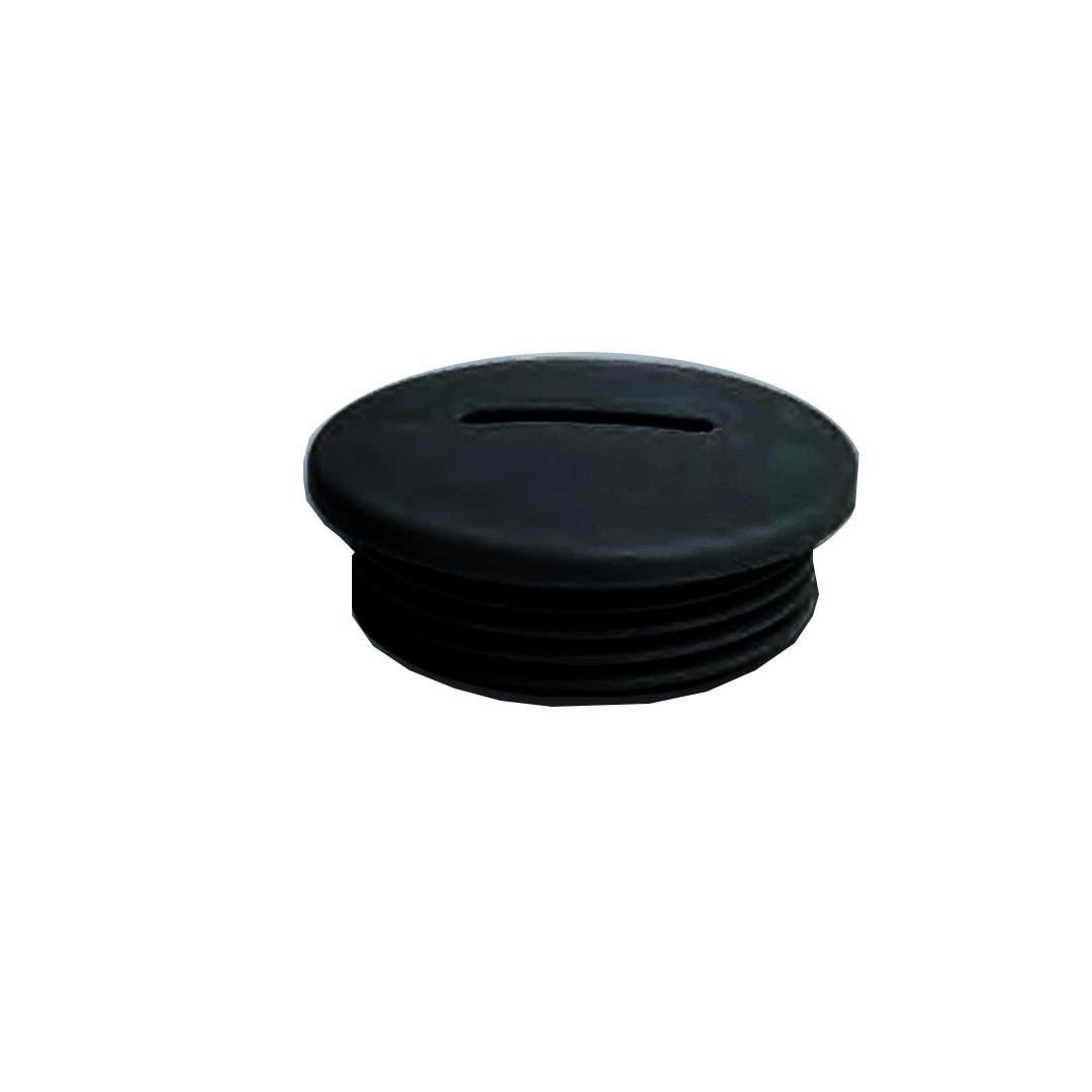 สีดำ ตัวอุดรูเคเบิ้ลแกลน เกลียว PG / PG type Poliamide Blindstop