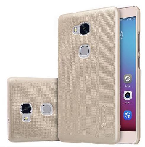 เคส Huawei Ascend Mate7 ฝาหลัง nillkin Super Frosted Shield สีทอง