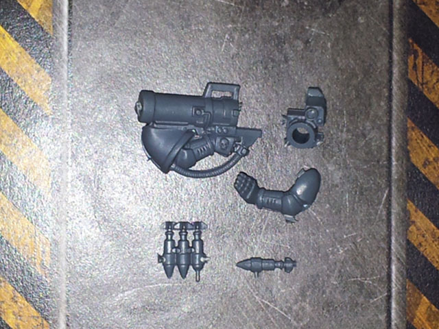 Space Marine TC Missile Launcher
