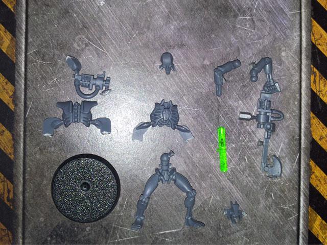 Necron Warrior single