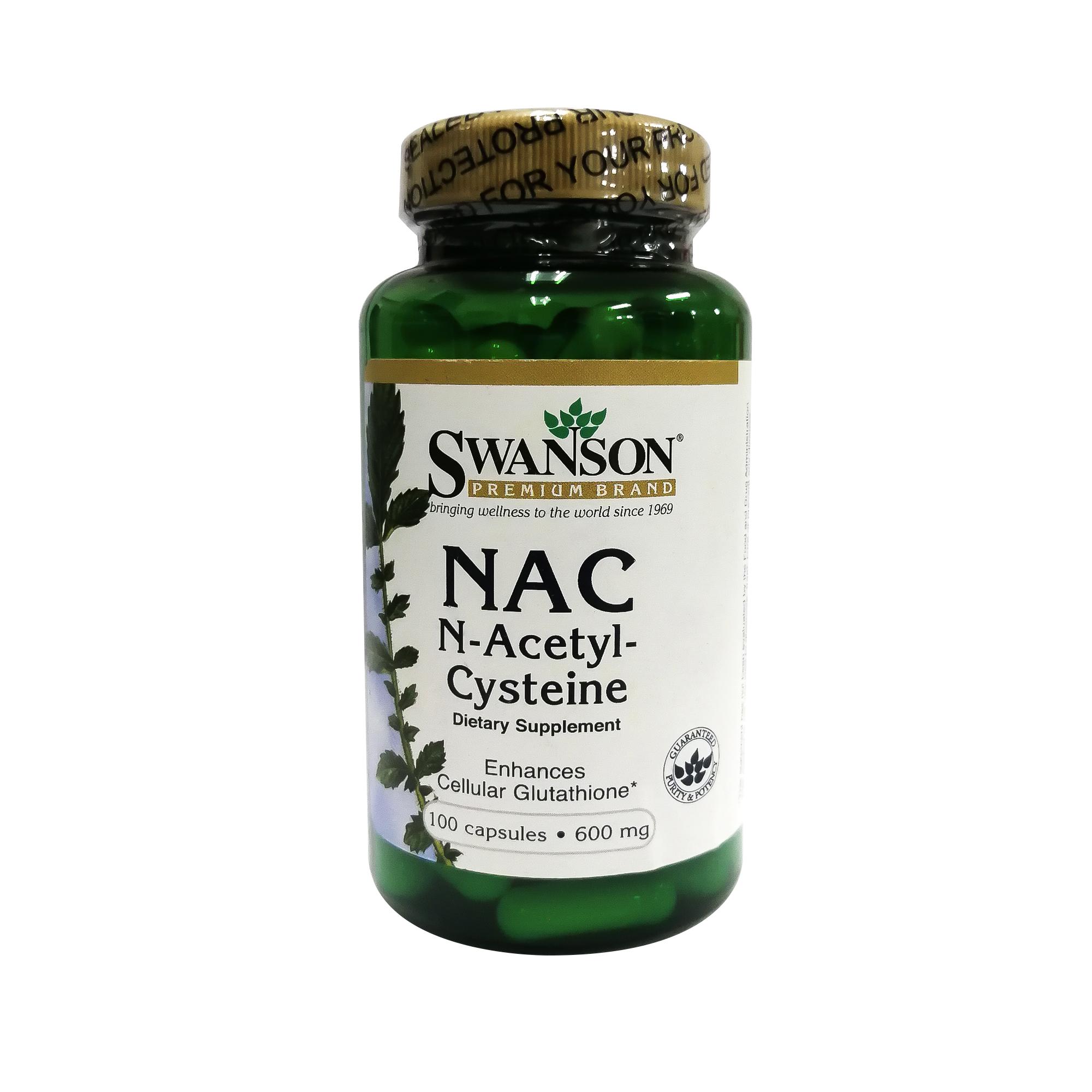(S-2) NAC N-Acetyl Cysteine แน็ค (100เม็ด/ขวด)
