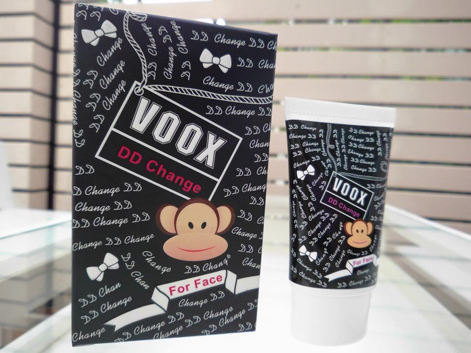 VOOX DD CHANGE Radiant DD Cream ว็อกซ์ ดีดี เชนจ์ ครีม สำหรับผิวหน้า20g.(ครีมดีดีหน้าเงา)