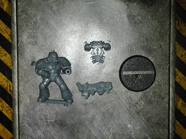 Darkangel Tactical with Plasmagun DV single