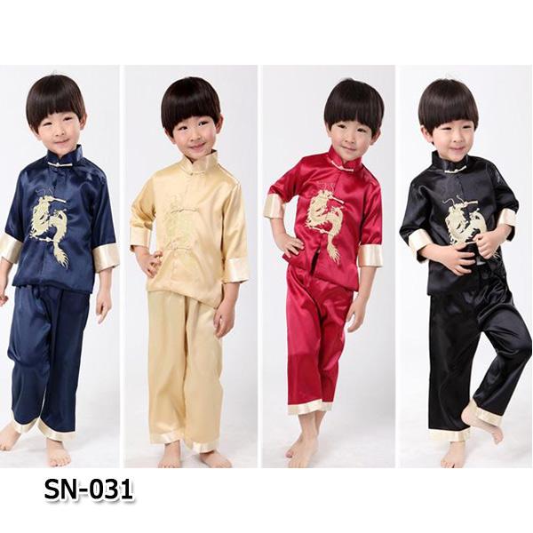 SN-031 เสื้อแขนยาว + กางเกง (80-130)