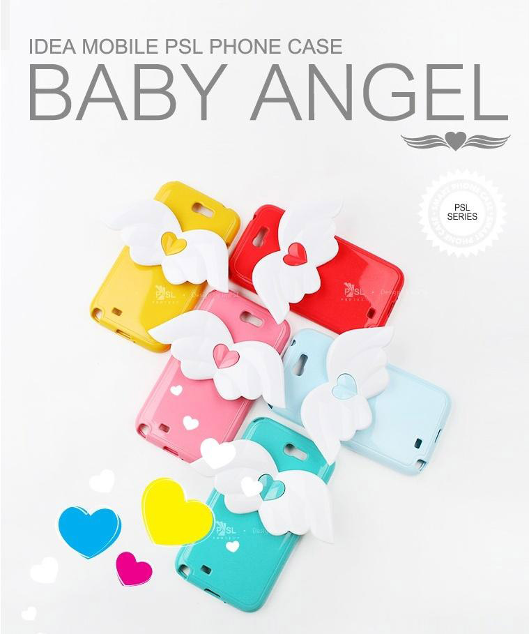 IDEA Mobile PSL Baby Angel Wings Case for iPhone 5