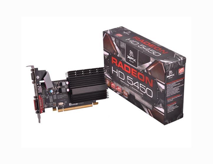 VGA XFX HD5450 1GB DDR3 545X-ZCH2