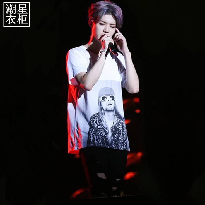 เสื้อยืด RETRO Sty.Luhan -ระบุไซต์-