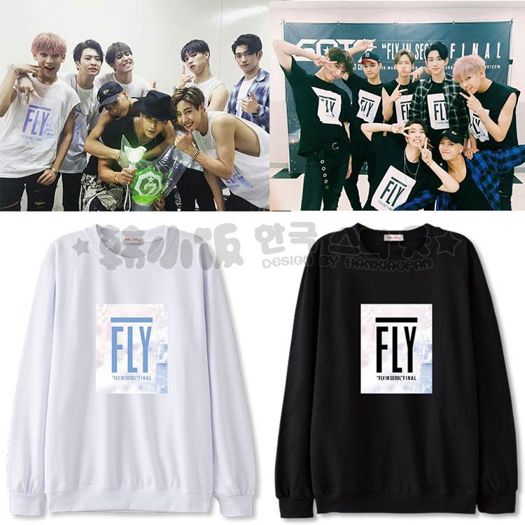 เสื้อแขนยาว GOT7 Concert Final in seoul 2016 -ระบุสี/ไซต์-