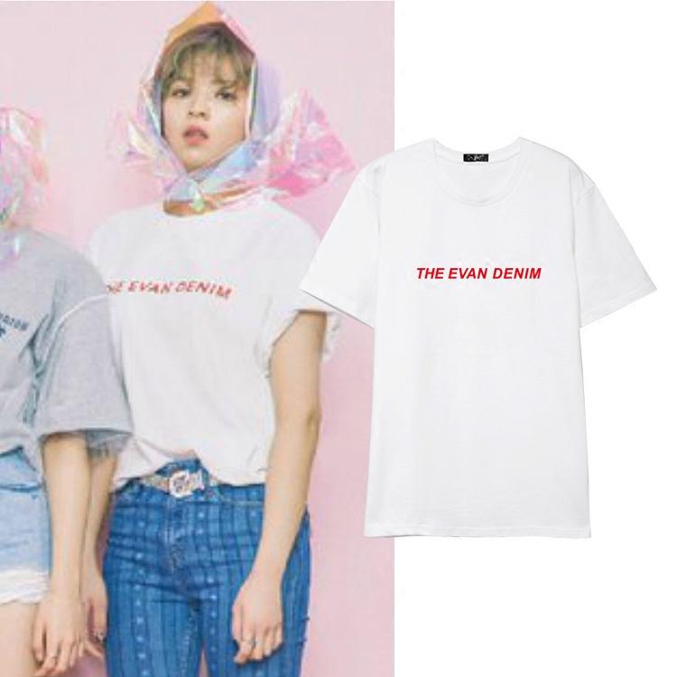 เสื้อยืด THE EVAN DENIM Sty.Twice -ระบุสี/ไซต์