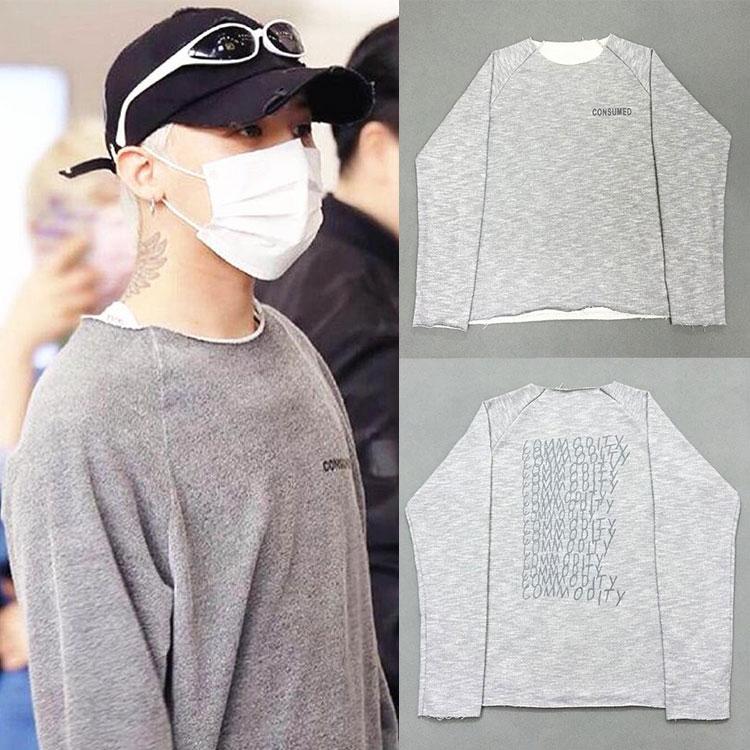 เสื้อแขนยาว CONSUMED Sty.G-Dragon -ระบุไซต์-