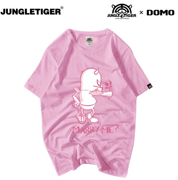 *Pre Order*เสื้อยืดแขนสั้นJUNGLE TIGER ผ้าฝ้าย 100% พิมพ์ลาย/ญี่ปุ่น size S-XL