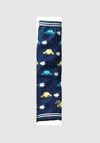 ถุงแขน-ขา เอนกประสงค์ สีน้ำเงิน ลายรถยนต์