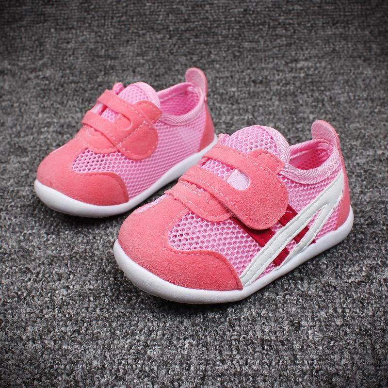 รองเท้าเด็ก พื้นยางกันลื่น รองเท้าแฟชั่นเกาหลี รองเท้ากีฬาเด็ก สไตล์สปอร์ต รองเท้าเด็กชาย รองเท้าเด็กหญิง รองเท้าเด็กเล็ก พร้อมส่ง แนะนำสำหรับเด็ก 3-18 เดือน