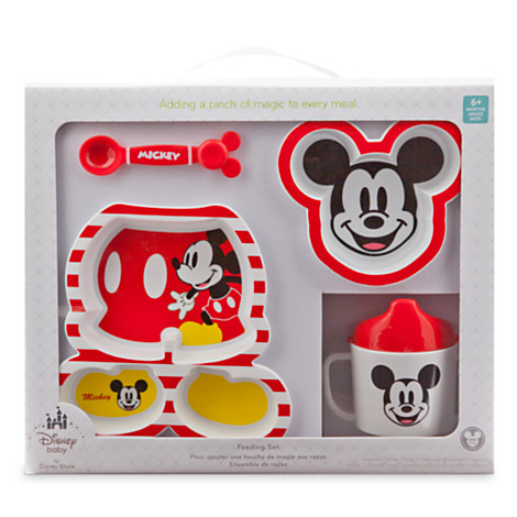 z Feeding Mickey Mouse set for baby