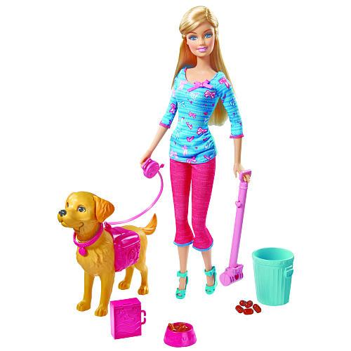 z Barbie Potty Trainin' Taffy Barbie Doll and Pet Playset ของแท้100% นำเข้าจากอเมริกา