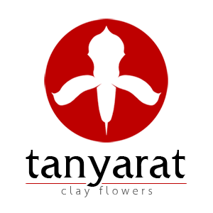 tanyarat clay flowers