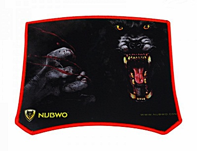 """Mouse PAD (แบบผ้า) NUBWO """"NP02"""" R"""