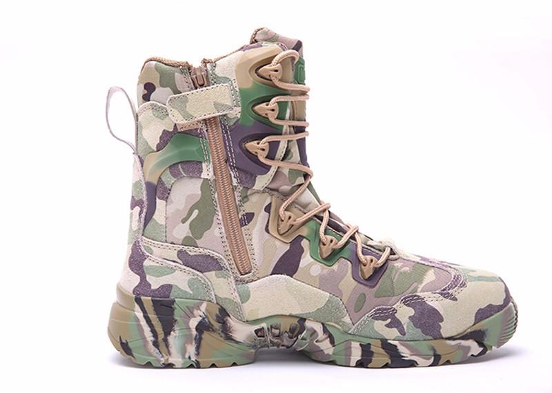 รองเท้าหนัง MAGNUM Spider 8.1 Desert MultiCam Adult Boot Made in USA Size 40-45