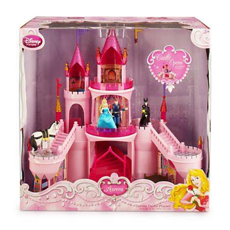 Z Aurora Deluxe Castle Play Set - Sleeping Beauty