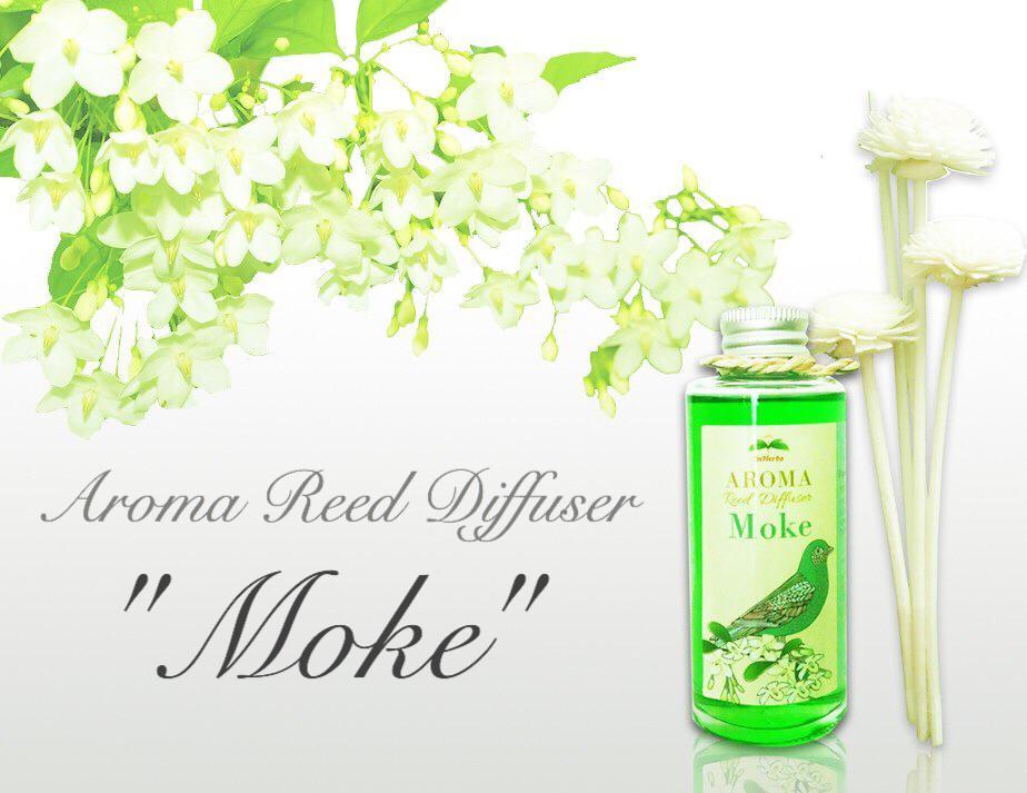 """THAI FLOWER MOKE"" Aroma Reed Diffuser / น้ำมันหอมระเหยปรับอากาศ กลิ่นดอกโมกไทย"