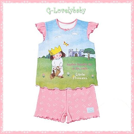 ชุดเด็กหญิง ขายแยกชุด เสื้อและกางเกงคนละไซต์ เสื้อเด็กหญิง กางเกงขาสั้นเด็กหญิง แบรนด์เนม มาเธอร์แคร์ ผ้าคอตตอนนุ่มมาก คุณภาพเกรด A ของแท้ รุ่น Little Princess