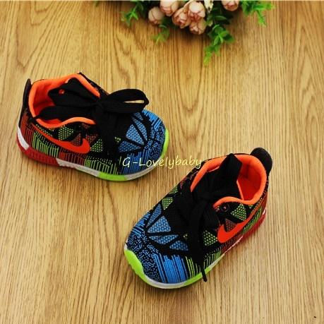รองเท้าเด็ก พื้นยางกันลื่น รองเท้าแฟชั่นเกาหลี รองเท้ากีฬาเด็ก สไตล์สปอร์ต รองเท้าเด็กชาย รองเท้าเด็กหญิง รองเท้าเด็กเล็ก อายุ 3 - 18 เดือน