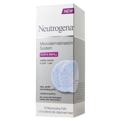 **พร้อมส่งค่ะ**Neutrogena MicroDermabrasion System Puffs Refill 24 แผ่น