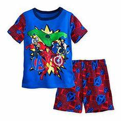 The avengers PJ Pal Shorts set for boys Size3
